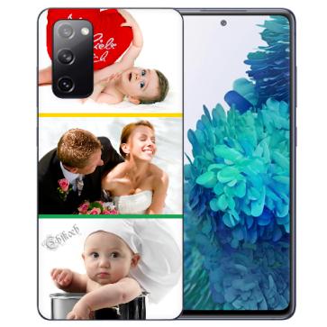 Samsung Galaxy S20 FE Silikon Schutzhülle TPU Case mit Foto Bilddruck