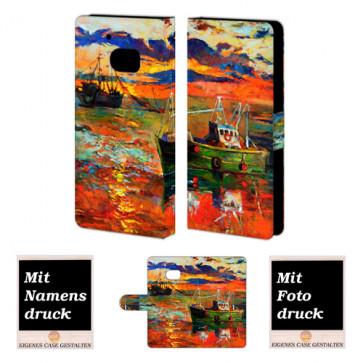 HTC M10 Gemälde  Handy Tasche Hülle Foto Bild Druck