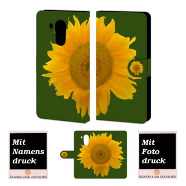 Huawei Mate 8 Sonnenblumen Handy Tasche Hülle Foto Bild Druck