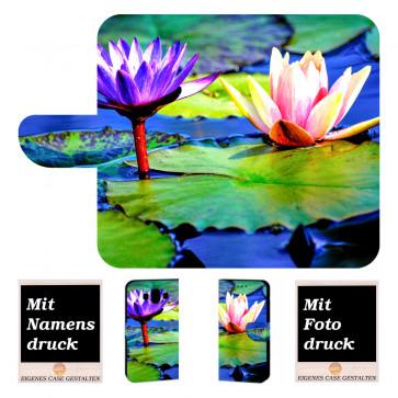 Huawei Mate 10 Schutzhülle Handy Tasche mit Lotosblumen Fotodruck
