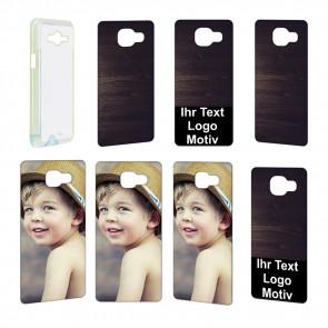 2D Hülle für  Samsung Galaxy A5 (2016) Hard case mit Foto und Text zum selbst gestalten.