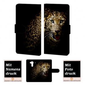 Acer Liquid Z5 Leopard Handy Tasche Hülle Foto Bild Druck