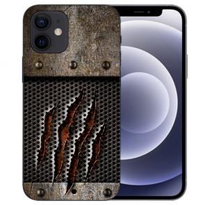 iPhone 12 mini Handy Schutzhülle Tasche mit Fotodruck Monster-Kralle