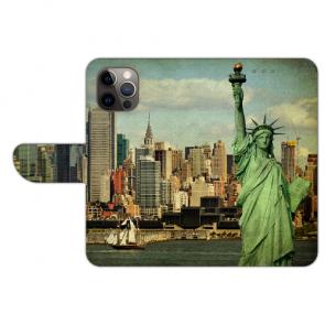 iPhone 12 Pro Schutzhülle Handy Hülle mit Freiheitsstatue Bilddruck