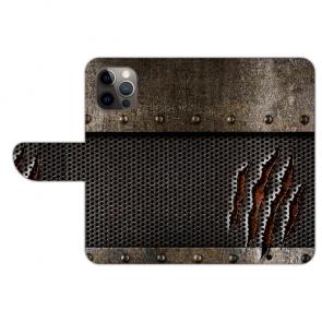 iPhone 12 mini Handy Hülle mit Monster-Kralle Bild Namen Druck Etui