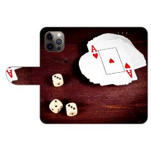 iPhone 12 Pro Schutzhülle Handy Hülle mit Bilddruck Spielkarten-Würfel