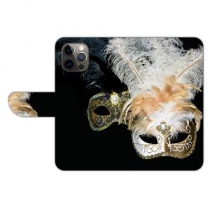 iPhone 12 Pro Max Handyhülle Tasche mit Venedig Maske Bilddruck