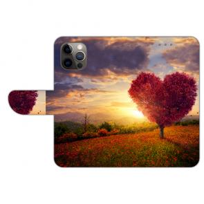 iPhone 12 Pro Personalisierte Handy Hülle mit Herzbaum Bilddruck