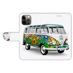 iPhone 12 Pro Max Handyhülle Tasche mit Bilddruck Hippie Bus