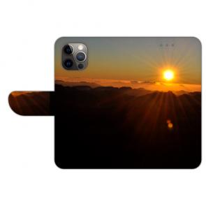 iPhone 12 mini Individuelle Handy Hülle mit Sonnenaufgang Bild Namen Druck