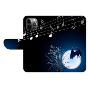 iPhone 12 Pro Schutzhülle Handy Hülle mit Fledermaus-mond Bilddruck