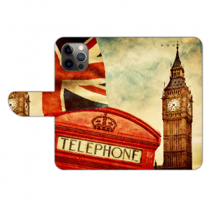 iPhone 12 Pro Schutzhülle Handy Hülle mit Bilddruck Big Ben London
