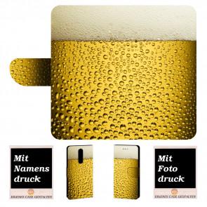 Personalisierte Handyhülle mit Bier + Bilddruck für Nokia 8 Tasche