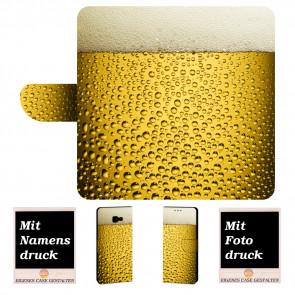 Handyhülle mit Bier + Bilddruck für Samsung Galaxy Xcover 4 Etui