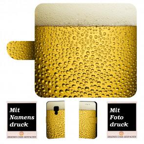 Schutzhülle Handy Tasche für Huawei Mate 20 mit Bilddruck Bier
