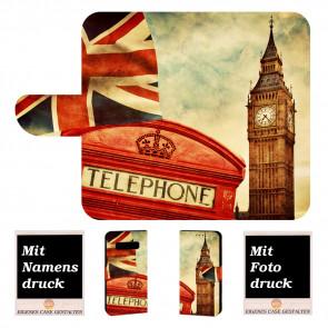 Samsung Galaxy S10 Lite Handy Tasche mit Big Ben-London + Bilddruck