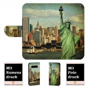 Samsung Galaxy S10 Plus Handyhülle mit Freiheitsstatue + Fotodruck
