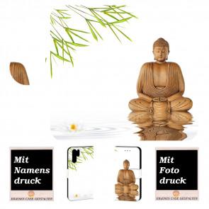 Samsung Galaxy Note 10 Plus Handy Hülle mit Bilddruck Frieden buddha