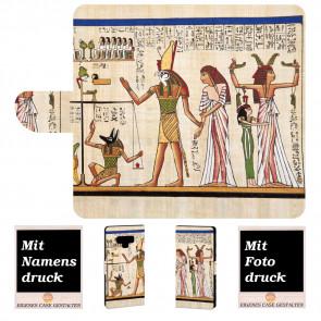 Samsung Galaxy Note 9 Handy Hülle mit Götter Ägyptens+ Fotodruck