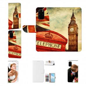 Schutzhülle Tasche mit Bild Druck Big Ben London für Samsung Galaxy A41