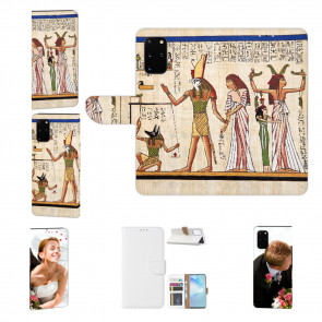 Samsung Galaxy S20 Handy Hülle mit Bilddruck Götter Ägyptens