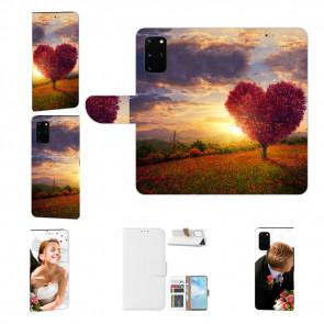 Samsung Galaxy M80s Handy Hülle mit Herzbaum Fotodruck Etui