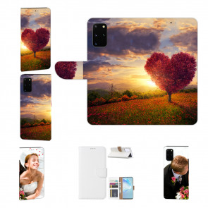 Handy Hülle mit Bild Druck Herzbaum für Samsung Galaxy A41Schutzhülle