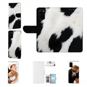 Schutzhülle Tasche mit Bild Druck Kuhmuster für Samsung Galaxy A41