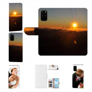 Samsung Galaxy M80s Handy Hülle mit Fotodruck Sonnenaufgang