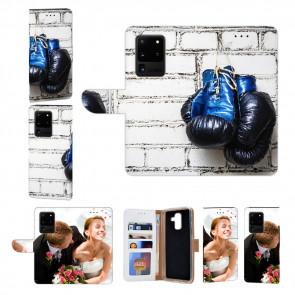 Samsung Galaxy S20 Ultra Handy Hülle mit Fotodruck Boxhandschuhe