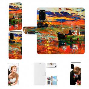 Handy Hülle mit Gemälde Fotodruck  für Samsung Galaxy M80s Etui