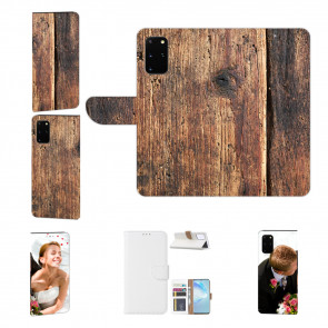 Personalisierte Handyhülle mit HolzOptik Bilddruck für Samsung Galaxy A72 (5G)