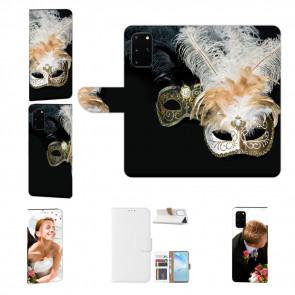 Samsung Galaxy S20 Handy Hülle mit Bilddruck Venedig Maske