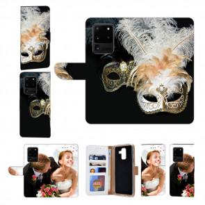 Samsung Galaxy S21 Ultra Handy Hülle mit Bilddruck Venedig Maske