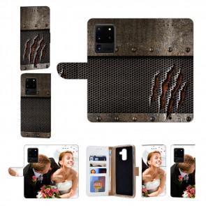 Samsung Galaxy S21 Ultra Handy Hülle mit Bilddruck Monster-Kralle