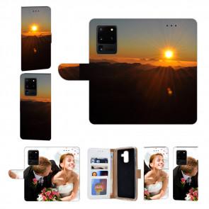 Handy Hülle mit Bilddruck Sonnenaufgang für Samsung Galaxy S21 Ultra