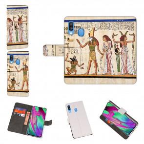 Samsung Galaxy A40 Personalisierte Handyhülle mit Götter Ägyptens Fotodruck