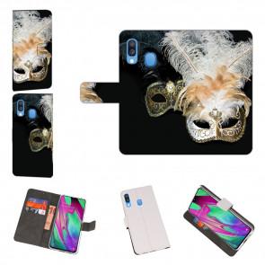 Personalisierte Handyhülle für Samsung Galaxy A40 mit Fotodruck Masken