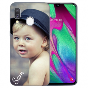 Samsung Galaxy A40 Silikon TPU Case Schutzhülle mit Foto Bilddruck
