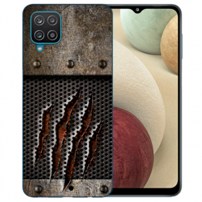 Samsung Galaxy A12 5G TPU Silikon Hülle mit Bilddruck Monster-Kralle