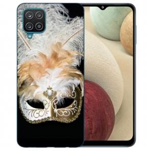Samsung Galaxy A12 5G TPU Hülle mit Bilddruck Venedig Maske