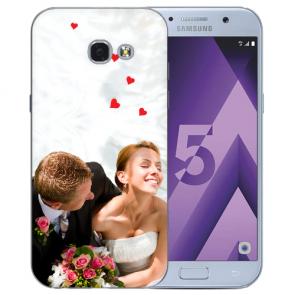 Samsung Galaxy A5 2017 Silikon Hülle mit Foto Bilddruck