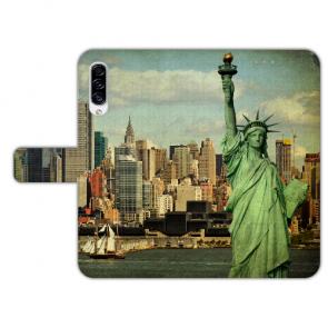 Handyhülle für Samsung Galaxy A50 mit Fotodruck Freiheitsstatue