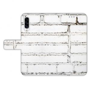 Handyhülle für Samsung Galaxy A50 mit Weiße Mauer Fotodruck
