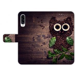 Personalisierte Handyhülle mit Kaffee Eule Bilddruck für Huawei Y6 Pro (2019)