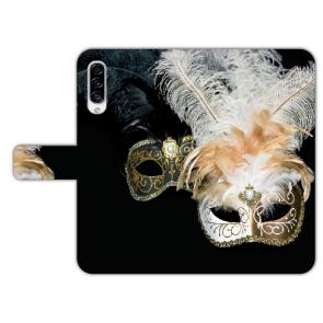 Personalisierte Handyhülle für Samsung Galaxy A50 mit Venedig Masken Fotodruck