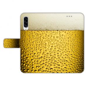 Personalisierte Handyhülle für Samsung Galaxy A50 mit Bier Fotodruck