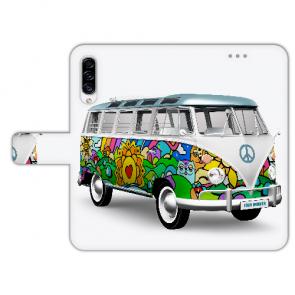 Samsung Galaxy A50 Personalisierte Handyhülle mit Hippie Bus Bilddruck