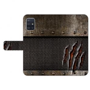 Samsung Galaxy A71 Handy Hülle Tasche mit Bilddruck Monster-Kralle