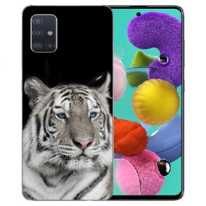 Samsung Galaxy Note 10 lite Silikon Schutzhülle TPU mit Tiger Bilddruck